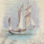 La Granvillaise  Aquarelle / 48 cm x 60 cm