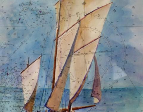 Sailing charts